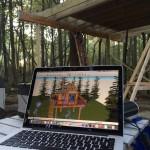 3D treehouse model