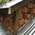 wood shingle exterior