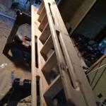Ship ladder to loft